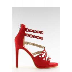 Sandále na opätkoch model 116743 Inello