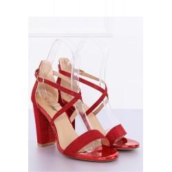 Sandále na opätkoch model 127250 Inello