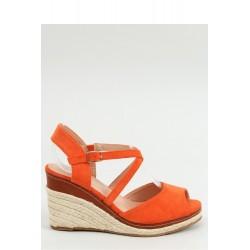 Sandále na opätkoch model 154487 Inello
