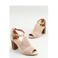Sandále na opätkoch model 154503 Inello