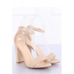 Sandále na opätkoch model 127235 Inello